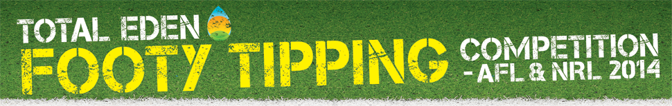 Total Eden Footy Tipping Competition